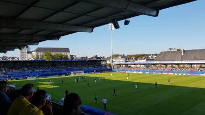 Le Stade de la Rabine  à Vannes