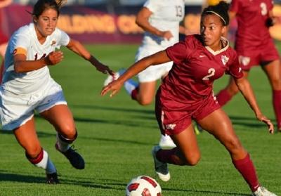 Inès Jaurena sous le maillot de l'Université de Florida State (photo NCAA)