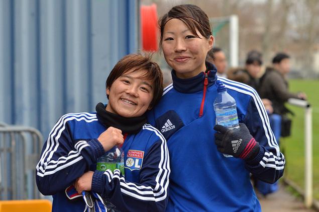 D1 - Shinobu OHNO et Megan RAPINOE en images