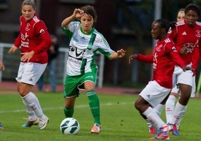 Maeva Clemaron (ASSE) veut une victoire (photo : W Morice)