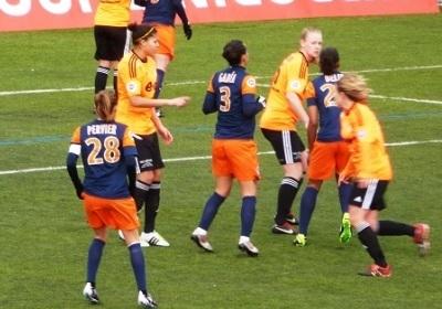 Cinq buts en neuf minutes pour Montpellier (photo R Bresson)