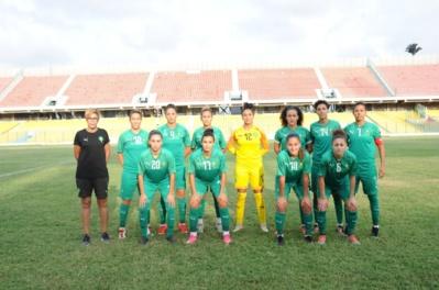 La sélection du Maroc s'est inclinée 3-1 pour le premier de ses deux matchs au Ghana (photo FRMF)