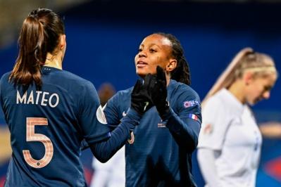 Matéo et Laurent ont marqué leur premier but en A (photo FFF)