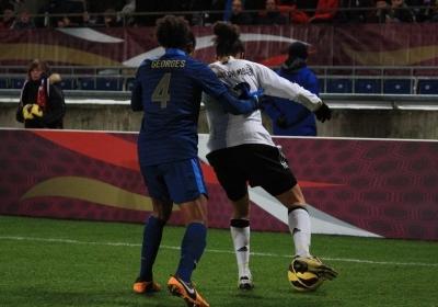 Les Bleues n'avaient jamais inscrit trois buts à l'Allemagne (photo A Massardi/les-feminines.fr)