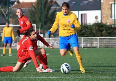 Lilia Boumrar a lancé son équipe (photo A Massardi/les-feminines.fr)