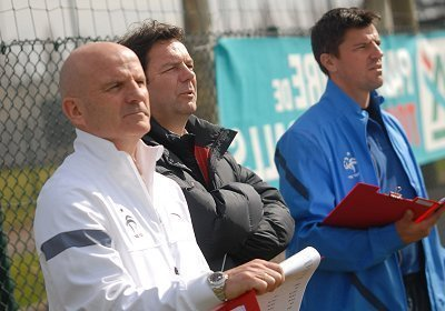 Guy Stéphan et Grégory Coupet ont dû faire des choix parmi les soixante-dix-huit candidats...