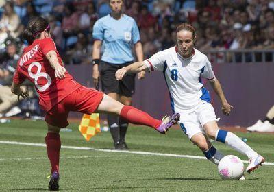 Bompastor (ici contre le Canada aux J.O) ne croit plus à un retour en Bleu (Photo Eric Baledent/Le Moustic Production)