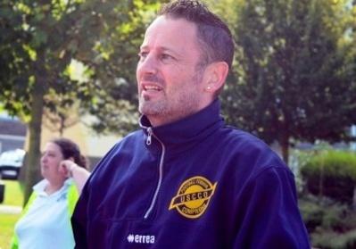 L'entraineur Christophe Lalliaud (photo uscco compiègne)