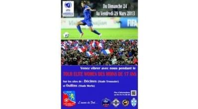 U17 - Une place en phase finale en jeu en Rhône-Alpes