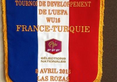 U16 - Tournoi de développement pour la sélection française : début face à la Turquie