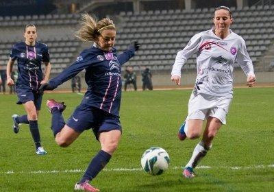 Laure Boulleau et les Parisiennes ont bien entamé le match (photo William Morice)