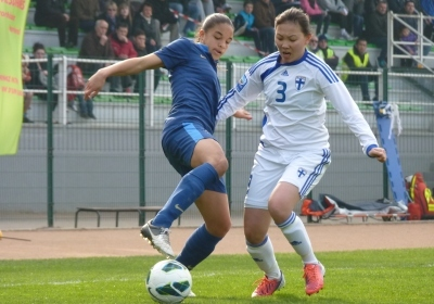 Delphine Cascarino et la France ont plié le match d'entrée (photo T Simonnet)