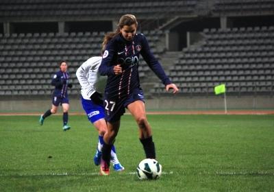 Tobin Heath a débloqué la situation (photo Anthony Massardi/Les-feminines.fr)