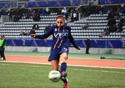 Jessica Houara a apporté beaucoup dans son couloir (photo A Massardi/Les-feminines.fr)