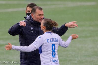 Laurent Mortel et Kimberley Cazeau (photo : Patrick Vielcanet/@declicsport)