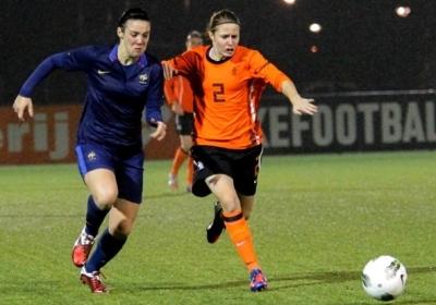 Clarisse Le Bihan et les U19 débutent par la Belgique (photo Leo Soeters)
