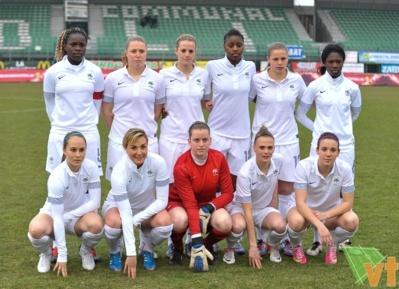 La sélection U19 française (photo David Catry/vrouwenteam)