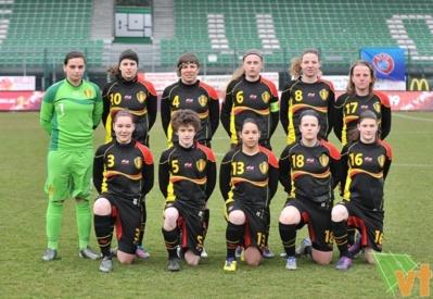 La sélection belge (photo David Catry/vrouwenteam)