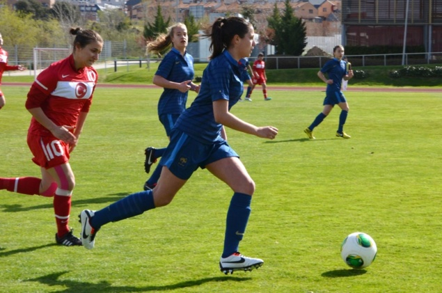 U16 - Succès face à la TURQUIE (3-0) ce midi