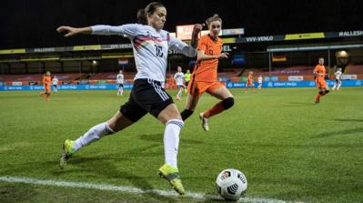Marozsán et ses partenaires s'inclinent 1-2 aux Pays-Bas (photo DFB.de)