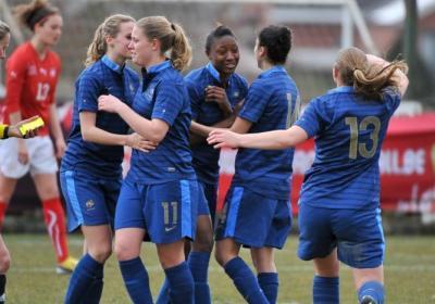 La France se qualifie pour la phase finale (photo David Catry/vrouwenteam)