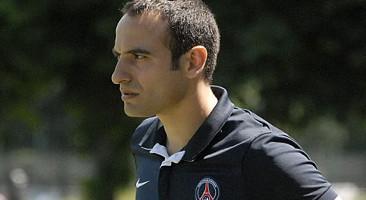 Camillo Vaz avec le PSG (photo PSG.fr)