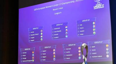 Euro U17 2022 - La FRANCE connaît ses adversaire du premier tour