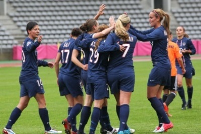 Les Parisiennes terminent à la seconde place (photo psg)