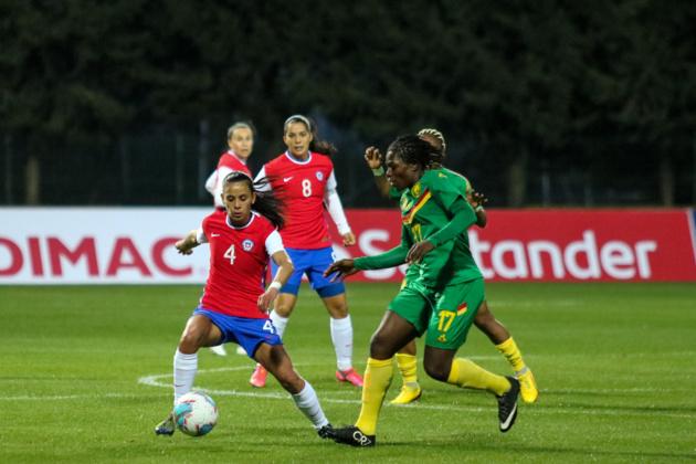 La Havraise Lara a contribué au 0-0 alors qu'Omboudou à droite a été exclue (photo La Roja)