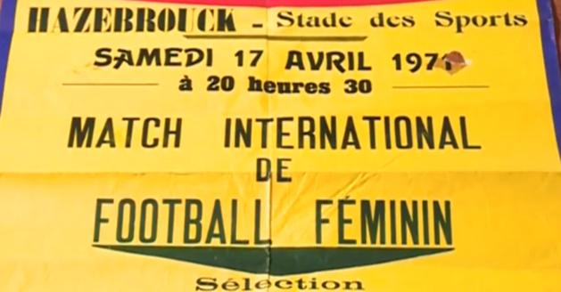 L'affiche de la rencontre