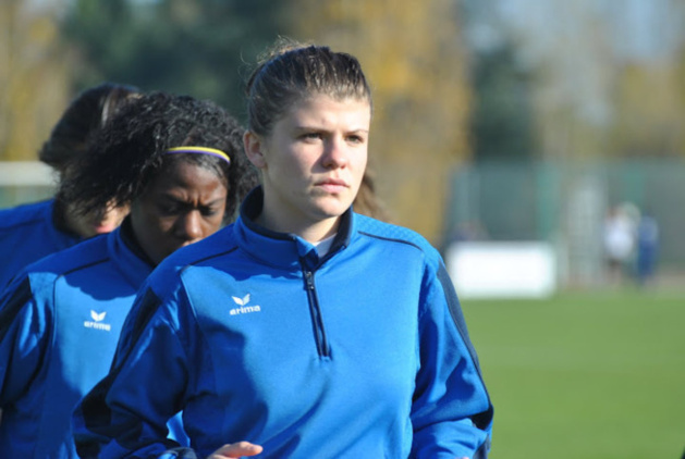 """Laura BOUILLOT (FF Yzeure) : """"Notre meilleure saison depuis que nous sommes en D1""""."""