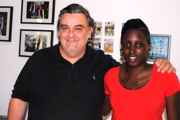 Après trois saisons à Fribourg, Marina Makanza est de retour (photo MHSC)
