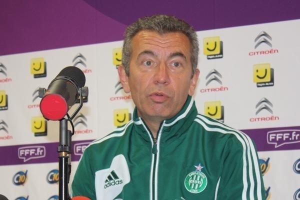 Hervé Didier satisfait de ses joueuses (photo : Sébastien Duret)