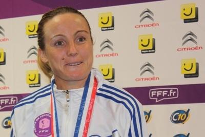Coupe de France - Sonia BOMPASTOR a été dignement fêtée