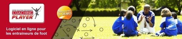 Offre Abonnés - Bénéficiez de 30% sur COACHING PLAYER, le logiciel qui simplifie la vie des entraîneurs de football…