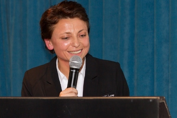 La Présidente Marie-Christine Terroni