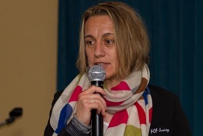 Sandrine Soubeyrand, joueuse et adjointe