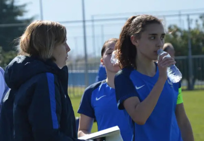 Nathalie Jarosz, à gauche (photo FFF)