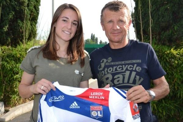 Mélissa Plaza aura a cœur de faire une belle saison avec son nouveau club (photo OL)