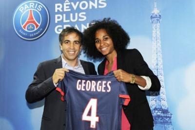 D1 - Le PSG officialise les signatures de Marie-Laure DELIE et Laura GEORGES