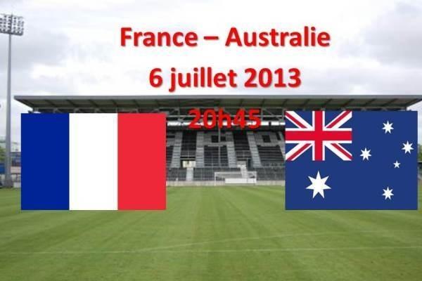 Revivez FRANCE - AUSTRALIE (0-2)