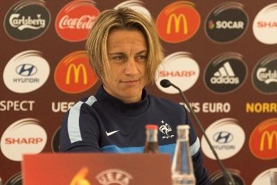 Sandrine Soubeyrand deviendra avec 28 jours de plus, la participante la plus âgée à une phase finale de l'Euro