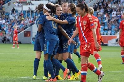 Les Bleues ont fait feu de tout bois pour leur premier match dans cet Euro