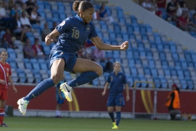Marie Laure Delie en est à 47 buts en équipe de France (Photos Eric Baledent/LMP)
