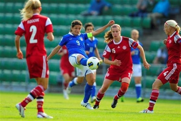 L'Italie de Panico a fait un grand pas vers la qualification (photo YS)
