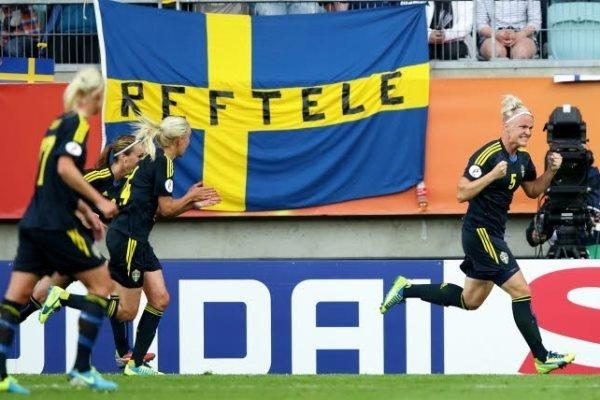 Nilla Fischer est l'actuelle meilleure buteuse de l'Euro avec trois réalisations (photo SVF)