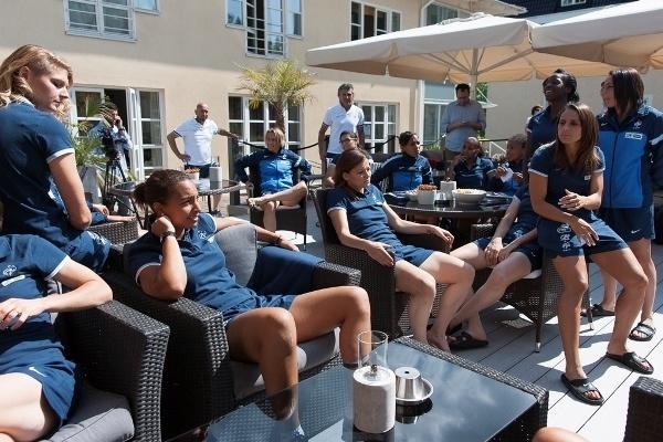 Euro 2013 - La Villa Fridhem, lieu de calme des Bleues