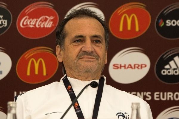 Bruno Bini n'a rien annoncé avec le France - Espagne (photo Eric Baledent)