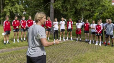 Martina Voss-Tecklenburg va devoir innover dans le onze de départ (photo DFB)