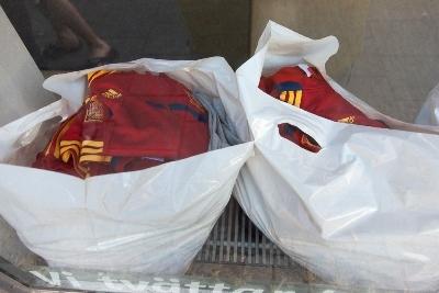 Les maillots espagnols sont lavés, l'Espagne prolonge l'aventure (photo Eric Baledent)